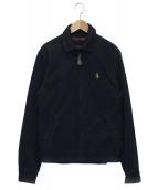 POLO RALPH LAUREN(ポロラルフローレン)の古着「ジップジャケット」|ネイビー
