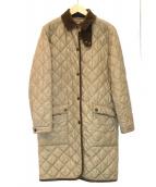 RALPH LAUREN(ラルフローレン)の古着「キルティングコート」 ベージュ