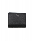 Christian Louboutin(クリスチャン ルブタン)の古着「2つ折り財布」|レッド×ブラック