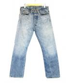 RRL(ダブルアールエル)の古着「デニムパンツ」|ライトインディゴ
