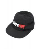 Supreme(シュプリーム)の古着「2-tone nylon 6-panel cap」|ブラック