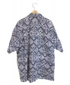()の古着「アロハシャツ」 ネイビー