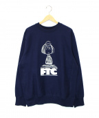 FTC(エフティーシー)の古着「PEPPERMINT PATTY CREW/PEANUTS」|ネイビー