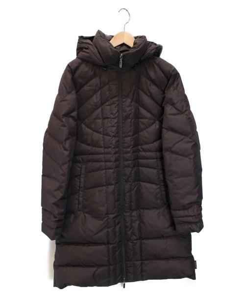 MONCLER(モンクレール)MONCLER (モンクレール) ダウンコート ブラウンの古着・服飾アイテム