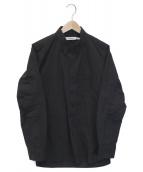 ()の古着「DWELLER B.D. SHIRT COTTON WEAT」|ブラック