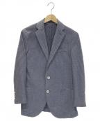 eleventy(イレブンティ)の古着「アンコンジャケット」 ブルー
