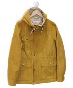 Battenwear(バテンウェア)の古着「マウンテンパーカー」 イエロー