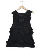 ()の古着「Tactical Vest」|ブラック