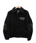 ()の古着「ウールスポーツジャケット」|ブラック
