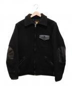 STYLE EYES(スタイルアイズ)の古着「ウールスポーツジャケット」|ブラック