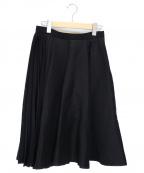 leur logette(ルルロジェッタ)の古着「フレア切替スカート」 ブラック
