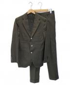 Errico Formicola(エリコフォルミコラ)の古着「セットアップスーツ」|オリーブ