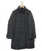 GIANNI LO GIUDICE(ジャンニ ロ ジュディチェ)の古着「2WAYダウンコート」|ネイビー