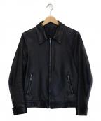 WACKO MARIA(ワコマリア)の古着「シングルライダースジャケット」|ブラック