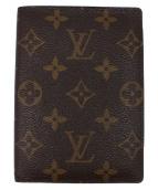 LOUIS VUITTON(ルイヴィトン)の古着「パスポートケース」|ブラウン