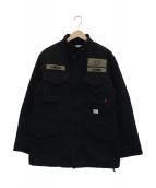 WTAPS(ダブルタップス)の古着「M65ジャケット」|ブラック