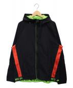 ()の古着「フレックスジャケット」|ブラック×イエロー