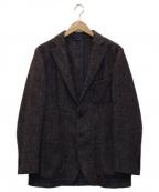 Altea(アルテア)の古着「ツイードテーラードジャケット」|ブラウン