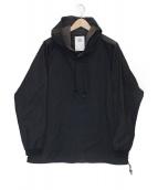 stof(ストフ)の古着「リスナーパーカー」|ブラック