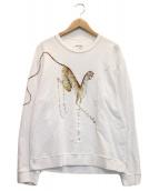 KENZO(ケンゾー)の古着「プリントスウェット」|ホワイト
