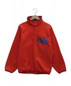 Patagonia(パタゴニア)の古着「シンチラスナップTプルオーバーフリースジャケット」 レッド