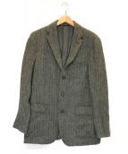 ()の古着「ツイードジャケット」|グレー
