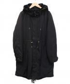BARNYARDSTORM(バンヤードストーム)の古着「ライナーロングフーディー」|ブラック