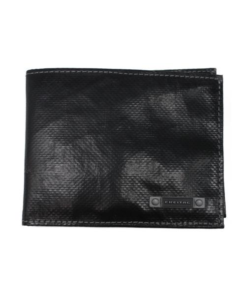FREITAG(フライターグ)FREITAG (フライターグ) 2つ折り財布 ブラック サイズ:下記参照 R709 SCHURICHの古着・服飾アイテム