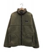 ()の古着「別注サイドジップボアジャケット」|オリーブ