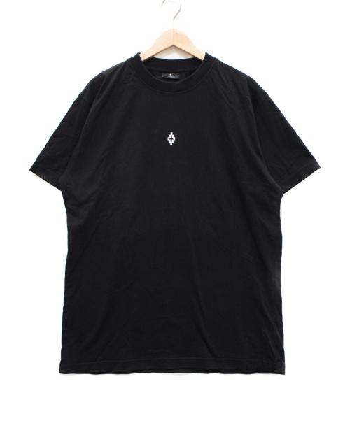 MARCELO BURLON(マルセロバーロン)MARCELO BURLON (マルセロバーロン) プリントTシャツ ブラック サイズ:Lの古着・服飾アイテム