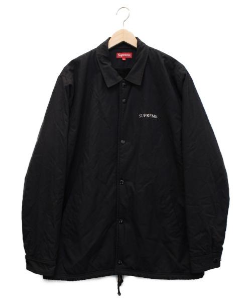 SUPREME(シュプリーム)Supreme (シュプリーム) Bruce Lee Coaches Jacket ブラック サイズ:XLの古着・服飾アイテム