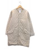 ORCIVAL(オーチバル)の古着「カラーレスコート」|ベージュ