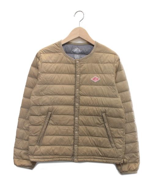DANTON(ダントン)DANTON (ダントン) インナーダウンジャケット ベージュ サイズ:34の古着・服飾アイテム
