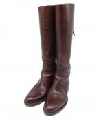 SARTORE(サルトル)の古着「レザーロングブーツ」|ブラウン