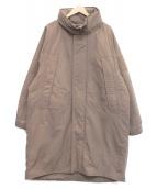 BEAMS HEART(ビームスハート)の古着「モンスタービッグコート」|ブラウン