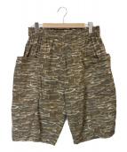 ()の古着「Army String Short」 オリーブ