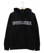 Supreme(シュプリーム)の古着「プルオーバーパーカー」|ブラック