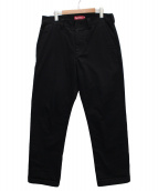 Supreme(シュプリーム)の古着「ワイドワークパンツ」 ブラック