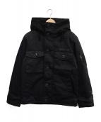 AVIREX(アヴィレックス)の古着「N-1中綿ジャケット」 ブラック