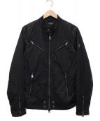 DIESEL(ディーゼル)の古着「ジップアップジャケット」|ブラック