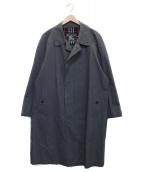()の古着「【古着】ステンカラーコート」|グレー