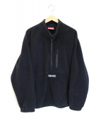 SUPREME(シュプリーム)の古着「Polartec Half Zip Pullover」 ブラック