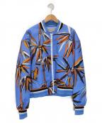 Emilio Pucci(エミリオプッチ)の古着「ボンバージャケット」 ブルー