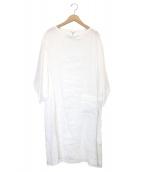 ORCIVAL(オーシバル)の古着「リネンワンピース」|ホワイト