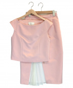 CHESTY(チェスティー)の古着「セットアップブラウス」|ピンク