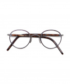 Ayame(アヤメ)の古着「伊達眼鏡」 ブラウン
