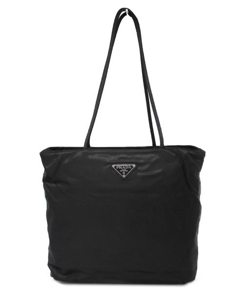 PRADA(プラダ)PRADA (プラダ) ナイロントートバッグ ブラック サイズ:下記参照 22の古着・服飾アイテム