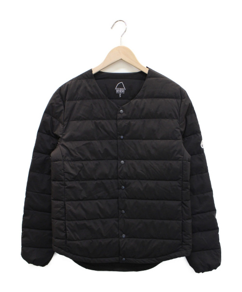 SIERRA DESIGNS(シエラデザインズ)SIERRA DESIGNS (シエラデザインズ) サスタンス 中綿ジャケット ブラック サイズ:Sの古着・服飾アイテム