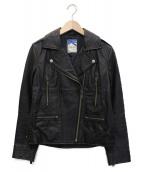 RHC Ron Herman(RHCロンハーマン)の古着「ラムレザージャケット」|ブラック