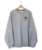 NIKE×STUSSY(ナイキ×ステューシー)の古着「Fleece Crew Sweatshirt」|グレー